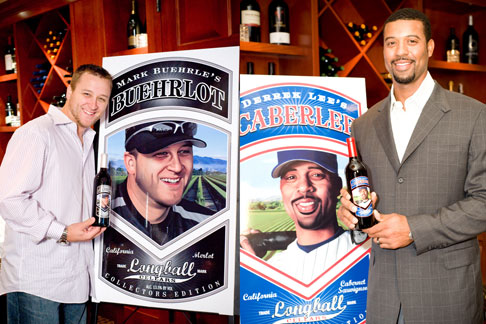 Mark Buehrle, Derrek Lee, Charity Wines